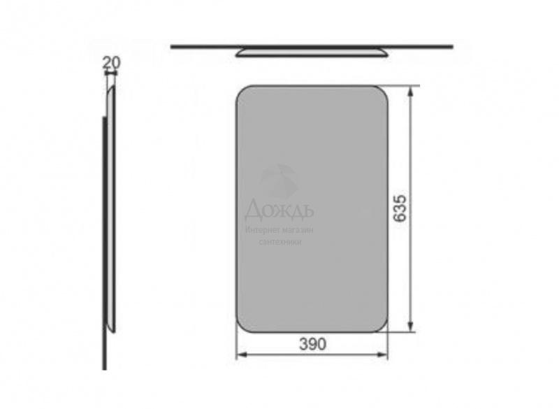Купить Velvex BIO 39 см в интернет-магазине Дождь