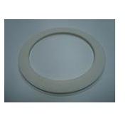 Прокладка под решетку сифона, белая, 64х47х2 мм