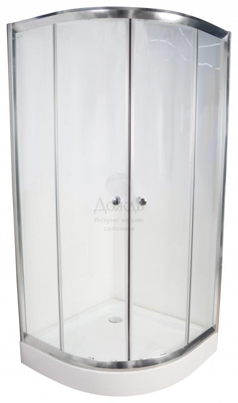Купить Galletta 310 90R W-ST-01, 90х90 см, с поддоном в интернет-магазине Дождь