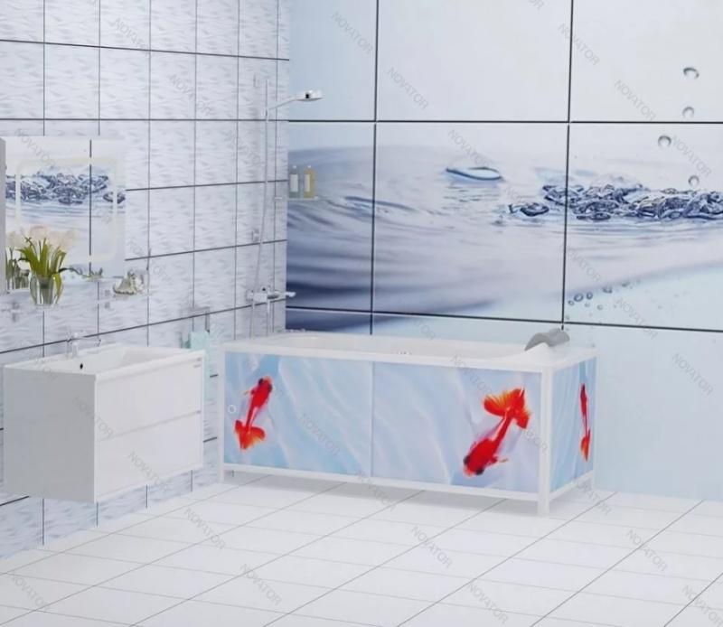 Метакам Ультра-Легкий АРТ, 148 см, золотые рыбки