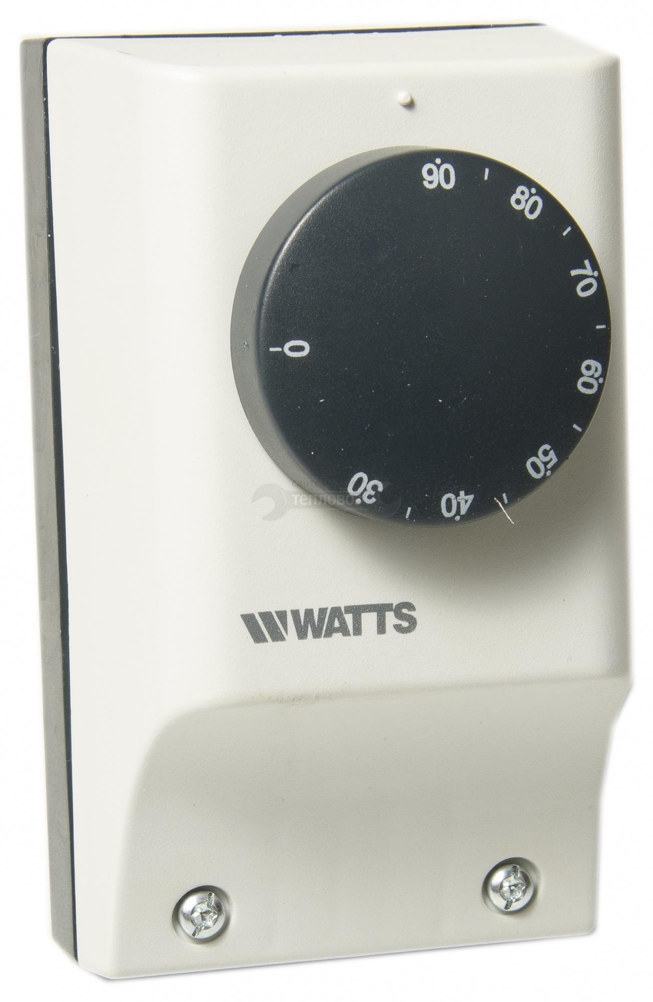 "Купить Watts 0406111 TC100/AN 1/2""х100 мм (220 В/15 А) в интернет-магазине Дождь"
