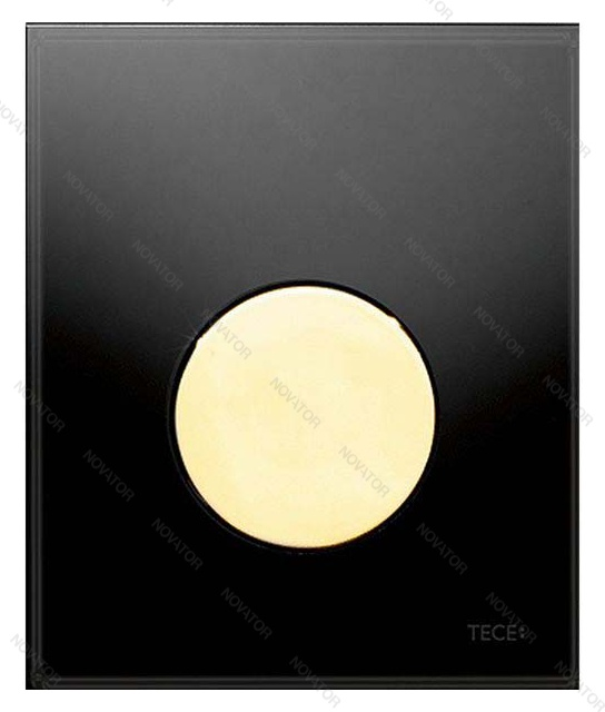 TECEloop Urinal 9242658, черный/позолоченный