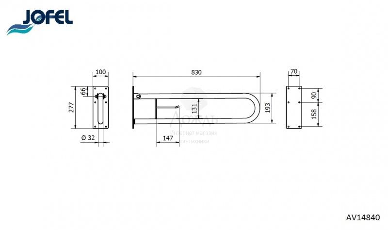 Купить Jofel Clasica AV14840, матовый в интернет-магазине Дождь