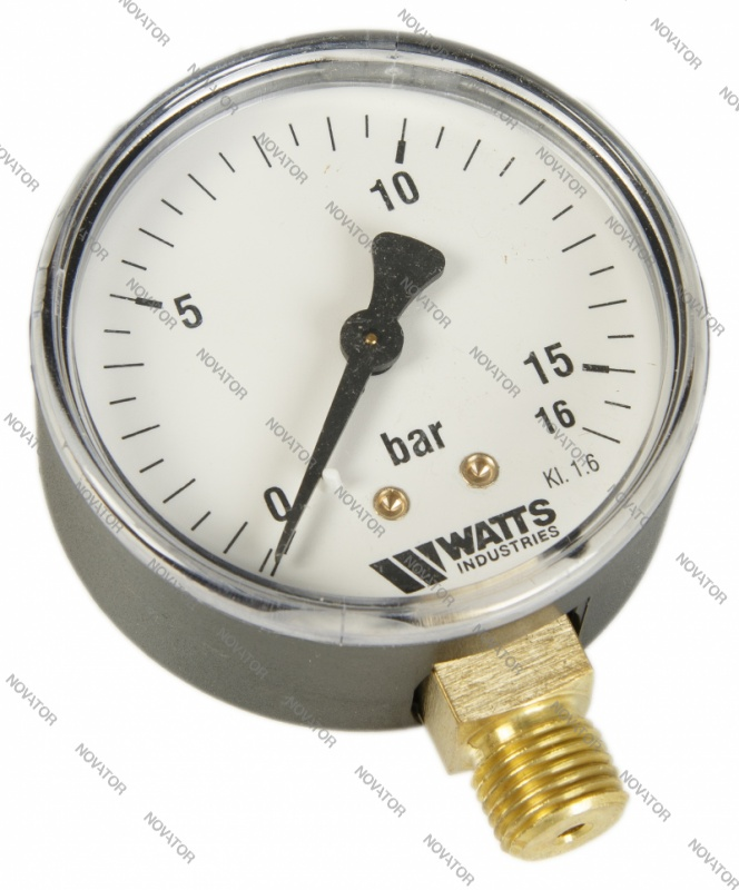 "Watts 0318216 MDR 63/16,нр 1/4""х16 бар (63 мм)"