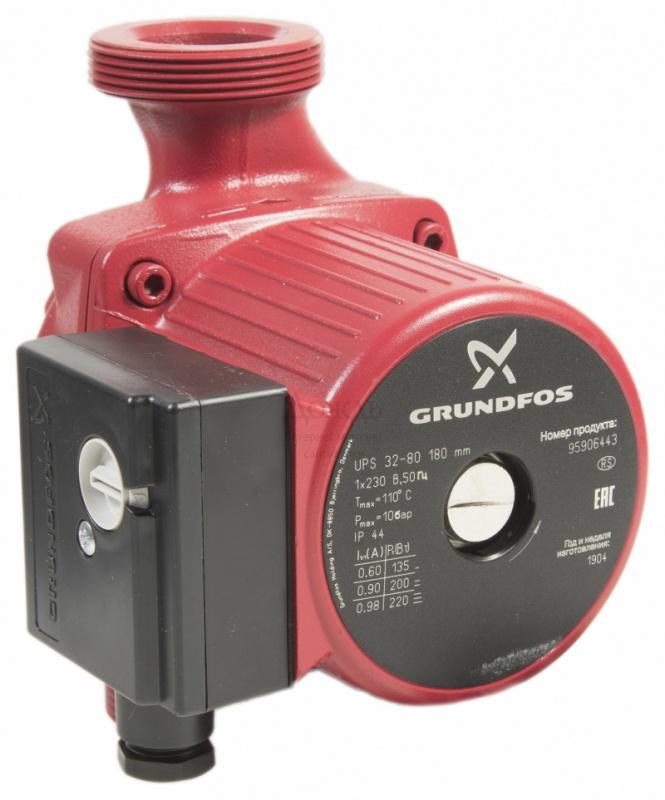 Купить Grundfos 95906443 (52588432) UPS 32-80 в интернет-магазине Дождь