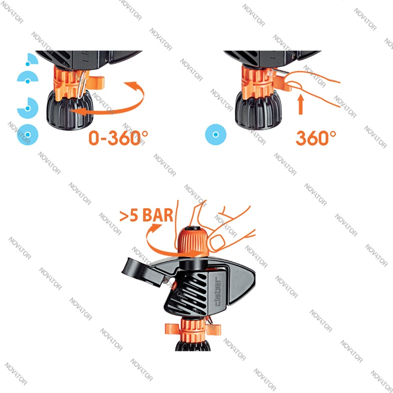 Claber Impact Spike 8707