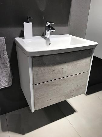 Купить ROCA RONDA ZRU9303002 60см, бетон/белый в интернет-магазине Дождь