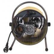 Пушка электрическая (тепловентилятор) Otgon СФО-15, 15 кВт, круглый, желтый