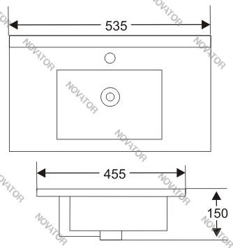 Nova ART 9050В, 53,5 см
