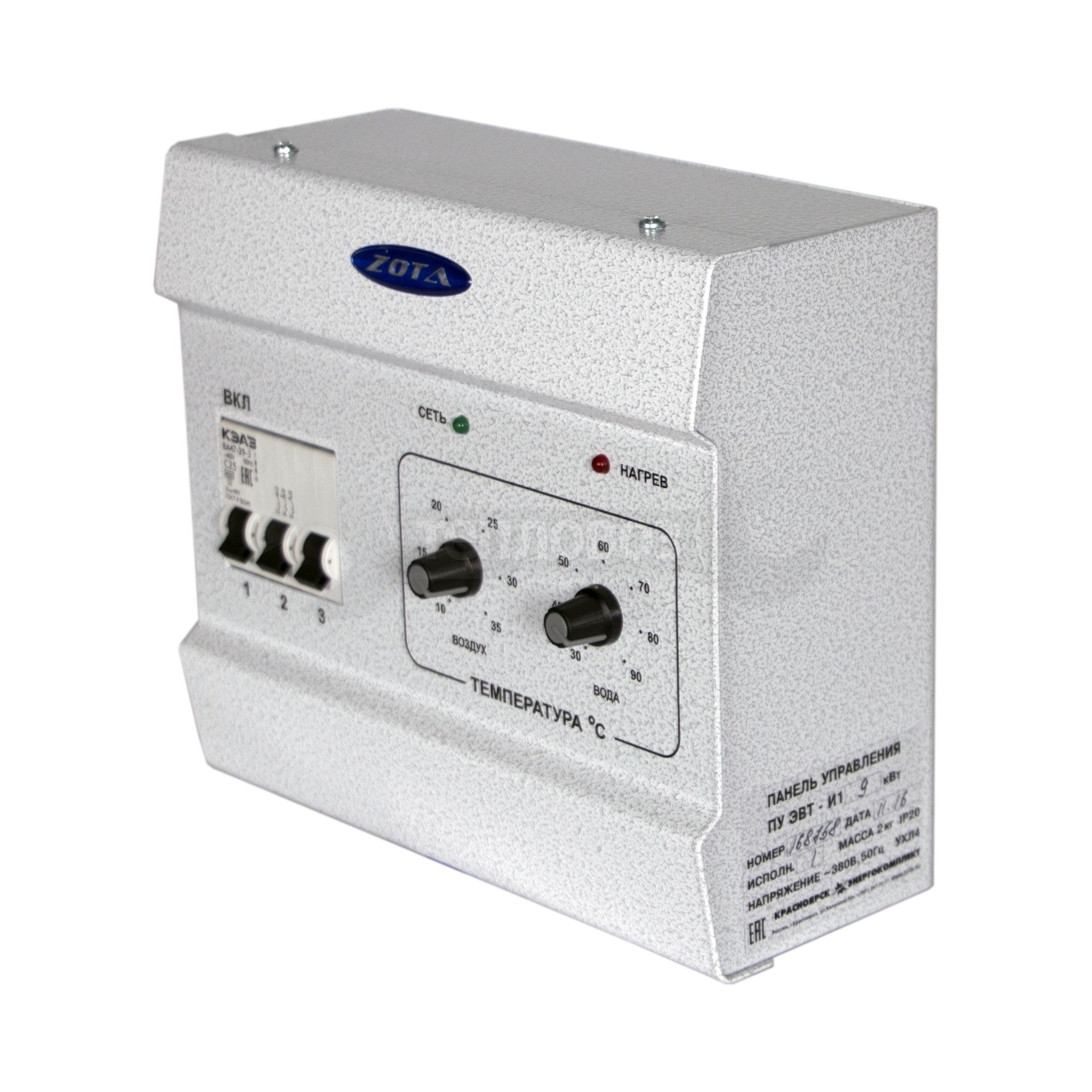 Zota ЭВТ-И1, 9 кВт