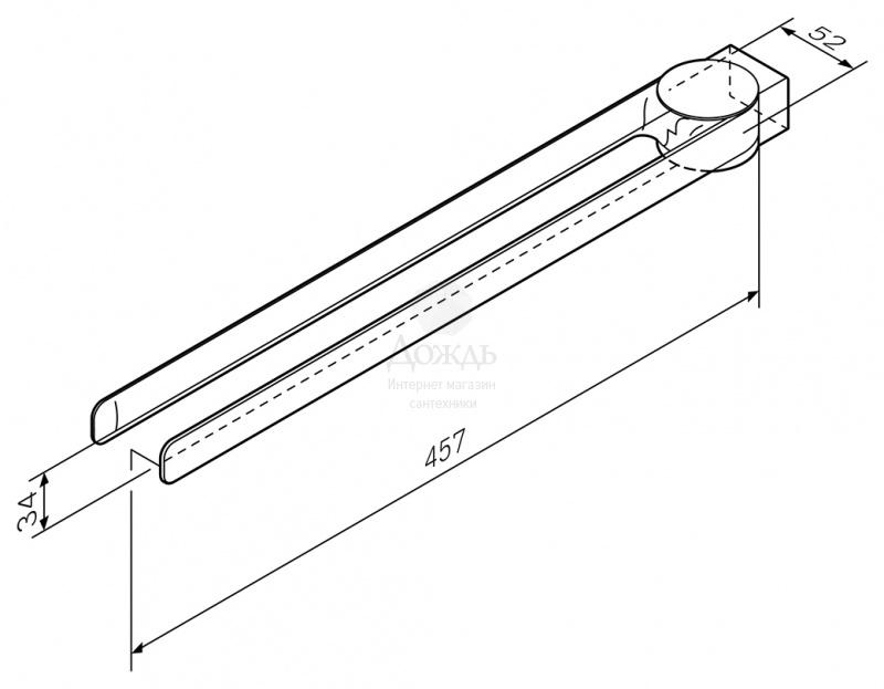 Купить AM.PM Inspire 2.0 A50A32600, 40 см в интернет-магазине Дождь