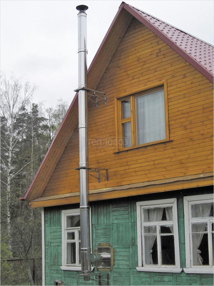 Дымоход из нержавеющей стали Ferrum Ø 150 мм, 6 м