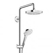 Купить Hansgrohe Croma Select E 180 2jet Shoverpipe 27256400 в интернет-магазине Дождь