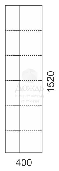 Купить Sanflor Чикаго R 40 см, дуб крафт / белый в интернет-магазине Дождь