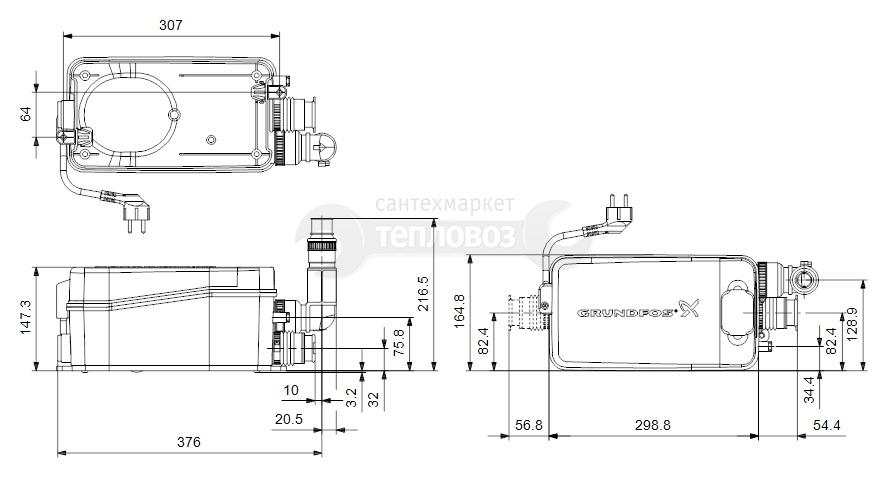 Grundfos Sololift 2 D-2, 97775318