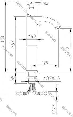 Coffer Axco MS-B2315, бронза
