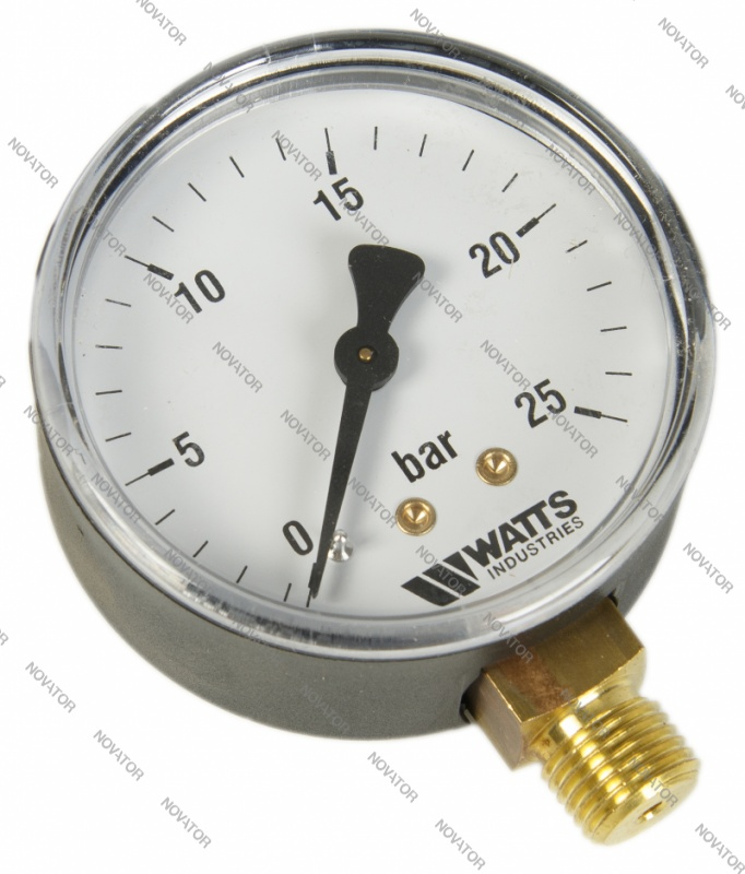 "Watts 0318225 MDR 63/25, нр 1/4""х25 бар (63 мм)"