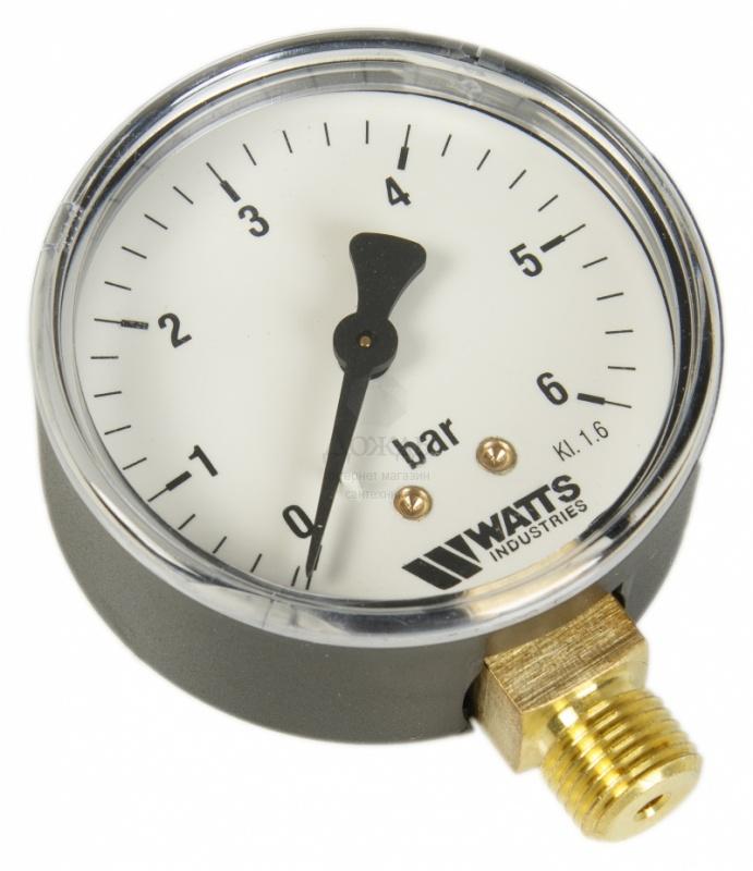 "Купить Watts 0318206 MDR 63/6, нр 1/4""х6 бар (63 мм) в интернет-магазине Дождь"