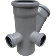 Купить РосТурПласт 45°, 110/110х50/50, левая+тыл, внутренняя в интернет-магазине Дождь