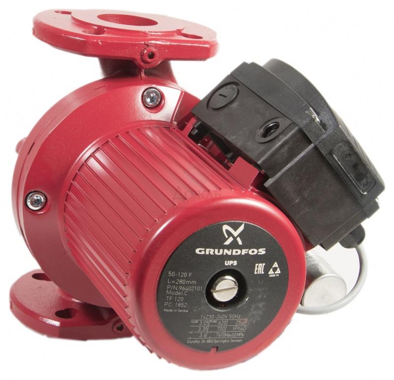 Купить Grundfos 96402101 UPS 50-120 F в интернет-магазине Дождь