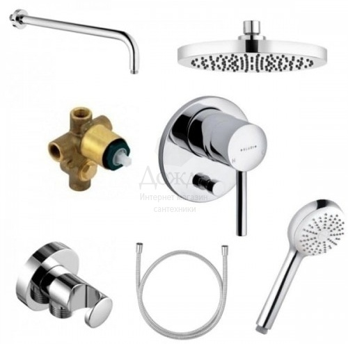 Купить Kludi Bozz 386300576 в интернет-магазине Дождь
