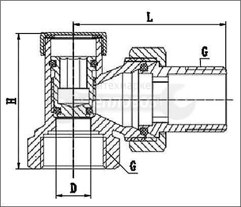 "Lavita ACS вр-нр 3/4""(20)"