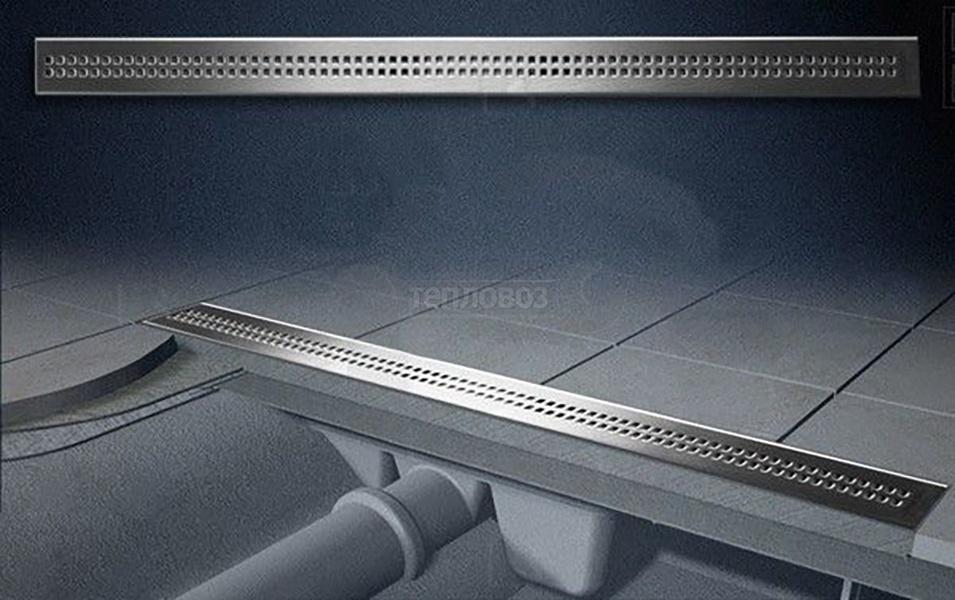 Alcaplast Simple APZ9-750M, 750мм, хром матовый