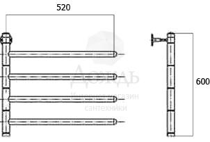Купить Арго NEW ЛУЧ 4, 60х52 см в интернет-магазине Дождь
