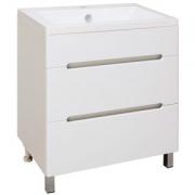 Купить Runo Парма 75 см, белый в интернет-магазине Дождь
