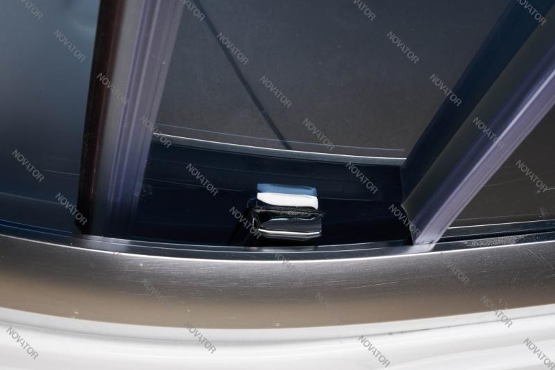 Galletta 913 W-ST-02 (L), 80х120 см, панель без форсунок