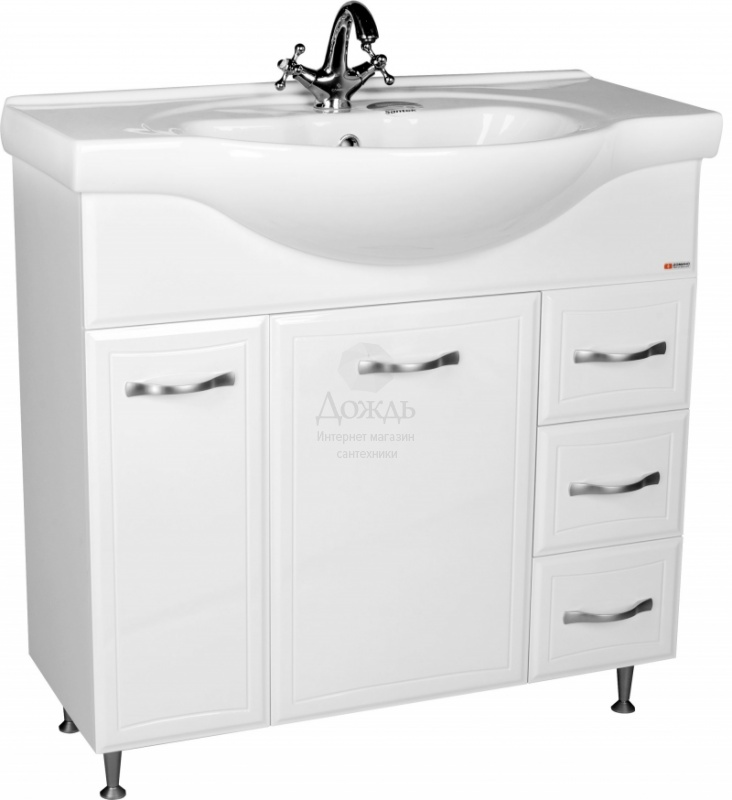 Купить Домино Идеал Сенеж DI44046T, 87.5 см, белый в интернет-магазине Дождь