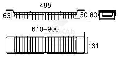 Купить Milardo 102W000M44, 61/90см в интернет-магазине Дождь