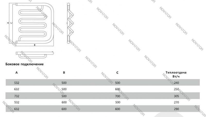 Terminus Фокстрот 32/20, 60х60 см