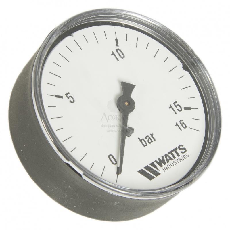 "Купить Watts 0316216 (0322740) MDA 63/16, нр 1/4""х16 бар (63 мм) в интернет-магазине Дождь"