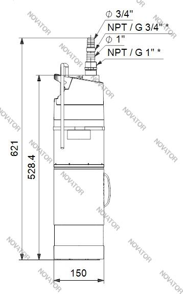 Grundfos SBA 3-35 A, 97896286