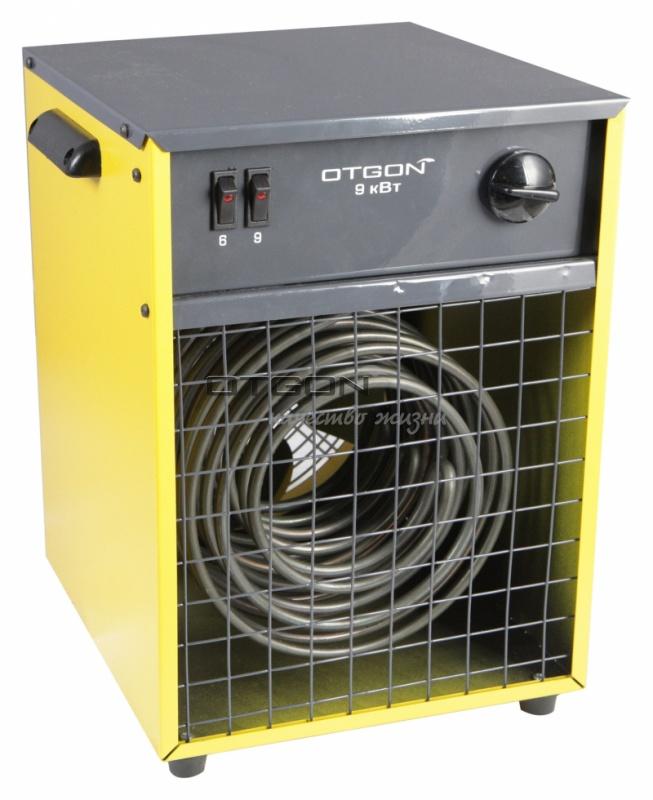 Пушка электрическая (тепловентилятор) Otgon КЭВ-9, 9 кВт, желтый
