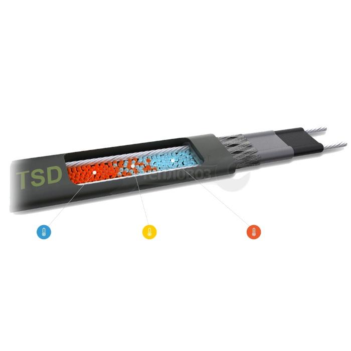 Купить TSD-25P, 25 Вт/м, бухта 50 м в интернет-магазине Дождь