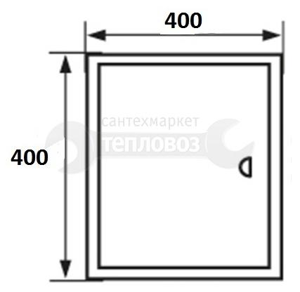 Event 4040ЛММ, 40х40 см, металлический, магнитный замок