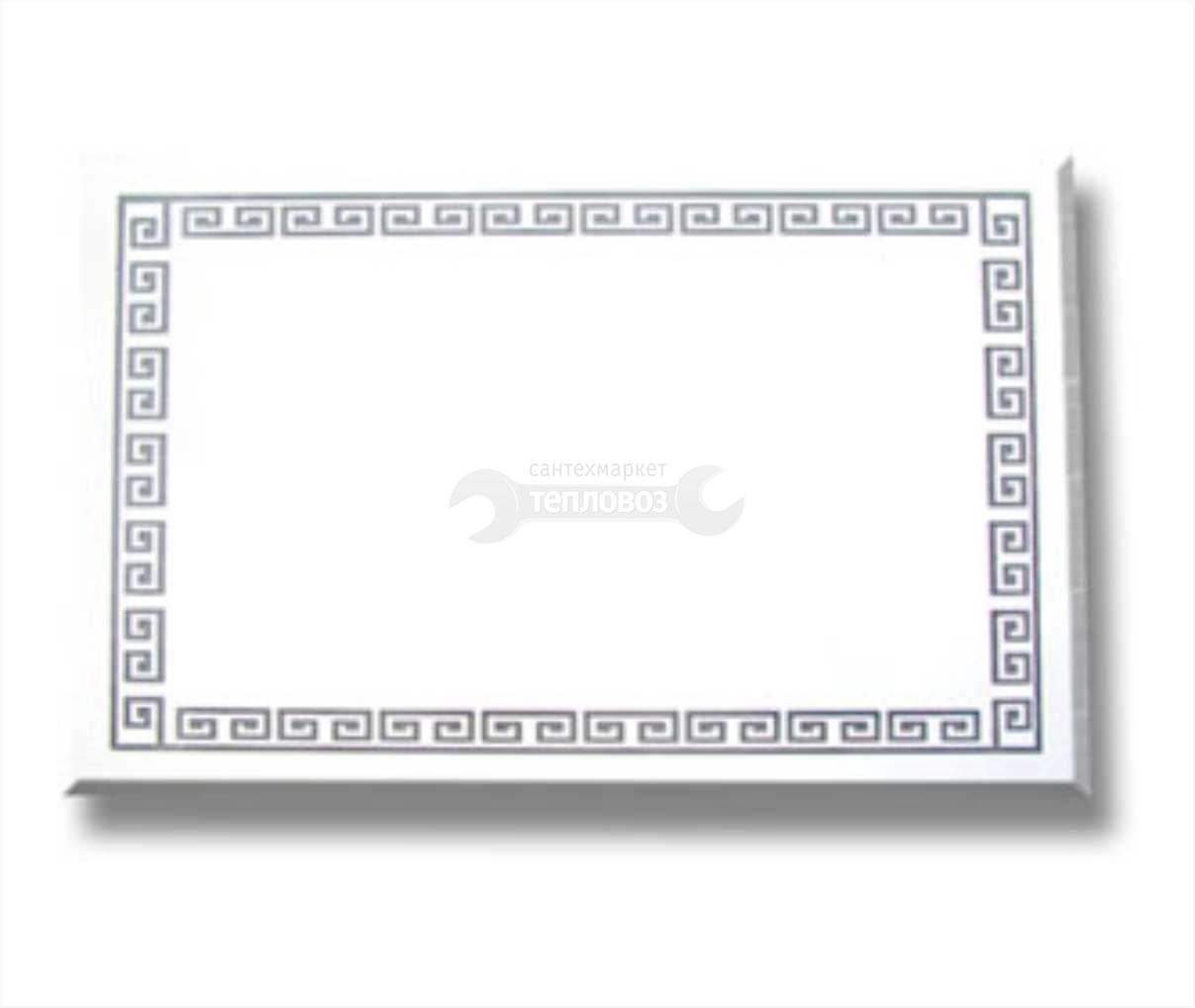 Зеркальные Грани 182Ф, 83 см, хром/матовый